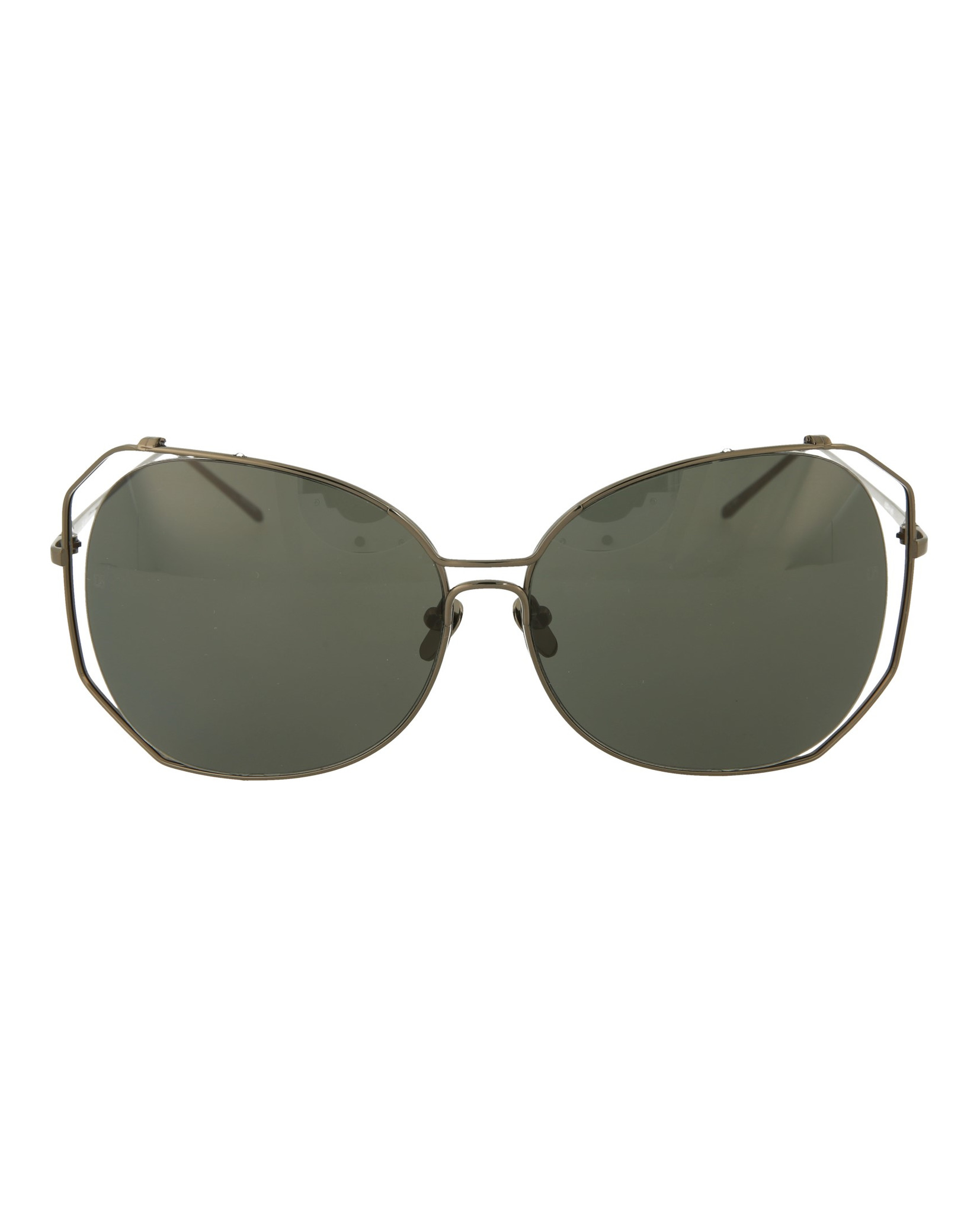 486578e706 Linda Farrow Womens Aviator Sunglasses LFL399C4-SUN 191966088376