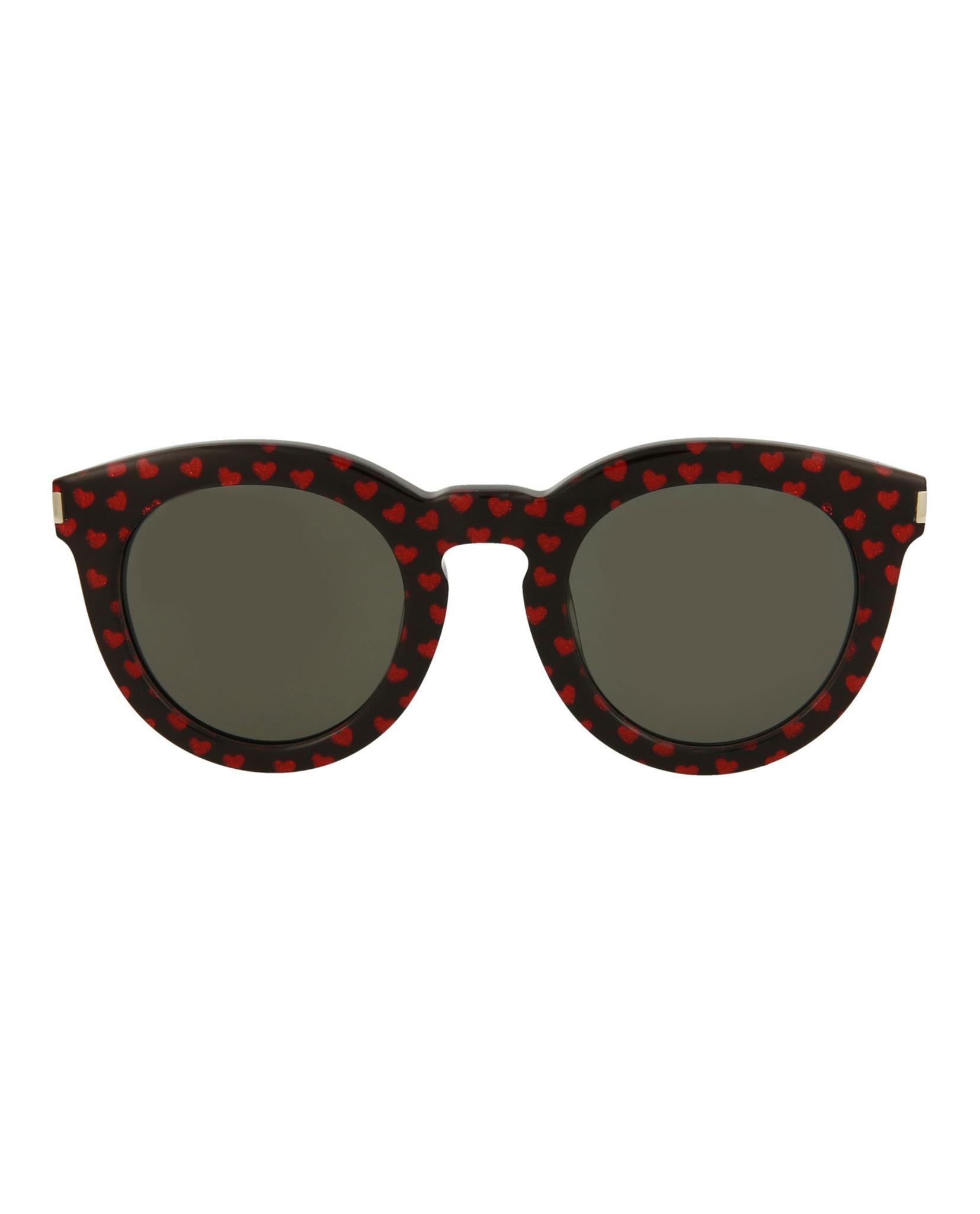 a0fa6bcd4887 Saint Laurent Unisex Round/Oval Sunglasses SL102-30000453-005 ...
