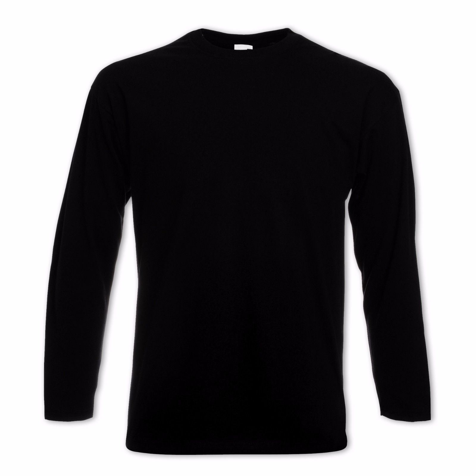 5er-Set-Fruit-of-the-loom-Herren-Longsleeve-T-Shirts-S-M-L-XL-XXL-Langarm-Shirt