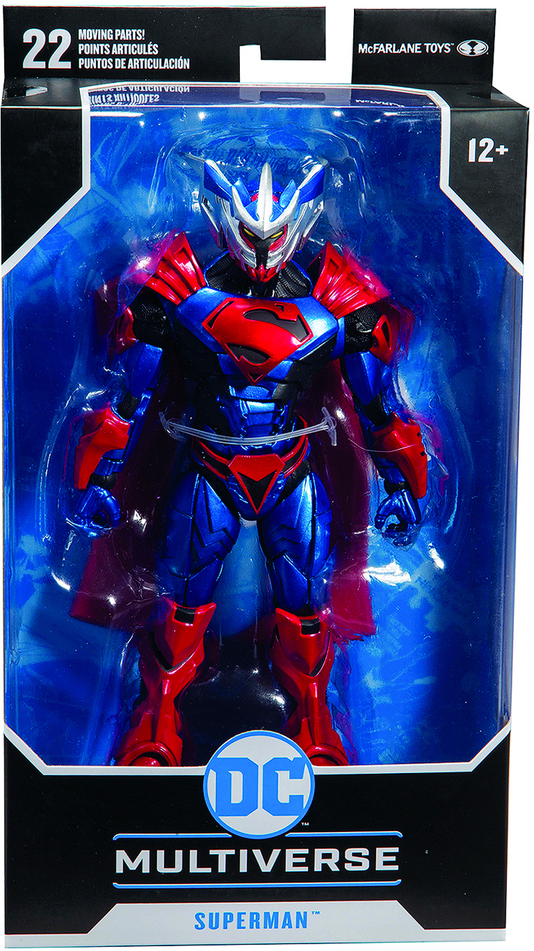 "McFarlane Toys Superman Unchained Armor Action Figure 7/"" DC Multiverse"