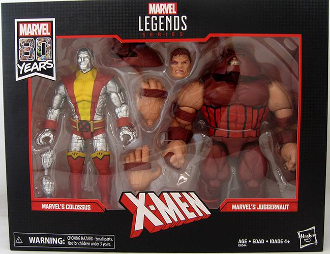 "Marvel Legends 80th Anniversary Colossus VS Juggernaut 6/"" Figure 2 Pack IN STOCK"