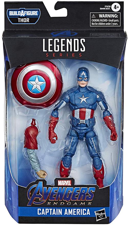 Captain Marvel Marvel Legends 6-Inch Action Figure