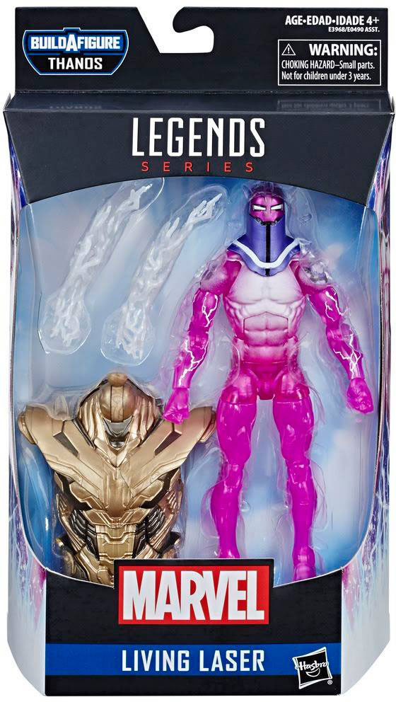 Marvel Legends Infinity War Thanos Wave 3 Living Laser In Box In Stock!