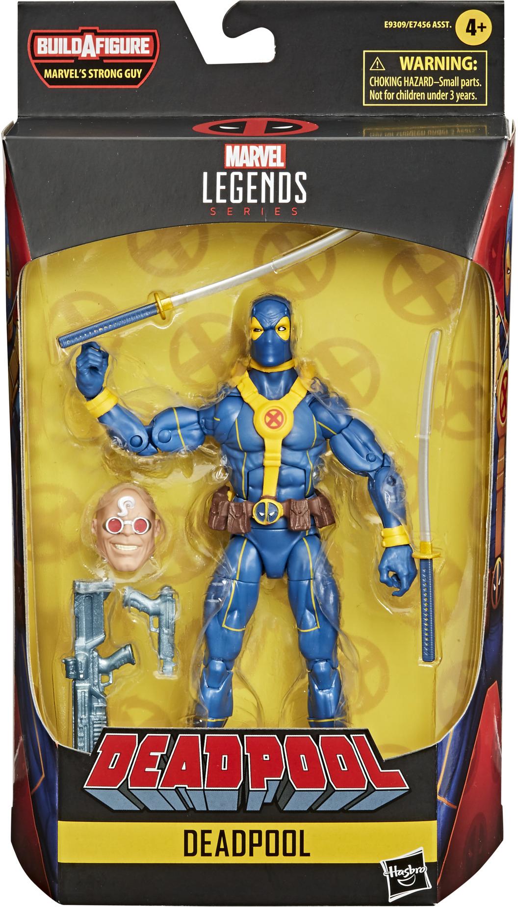 *** Pre-Order *** Deadpool Marvel Legends Blue Deadpool