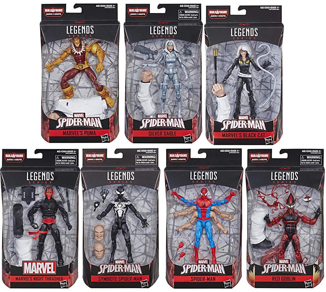 IN STOCK NEW 2018 Marvel Legends Kingpin BAF Build-A-Figure COMPLETE SET
