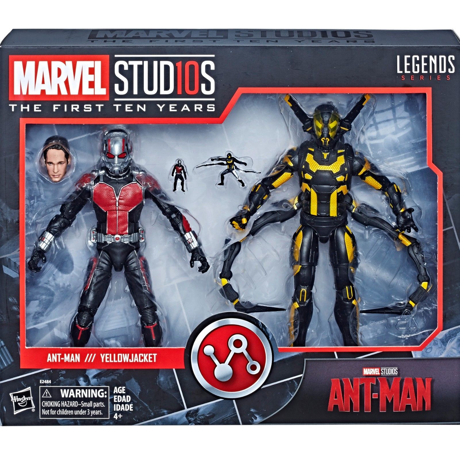 "Marvel Legends Ant-Man /& Yellowjacket Marvel Studios 10th Anniversary 6/"" New"