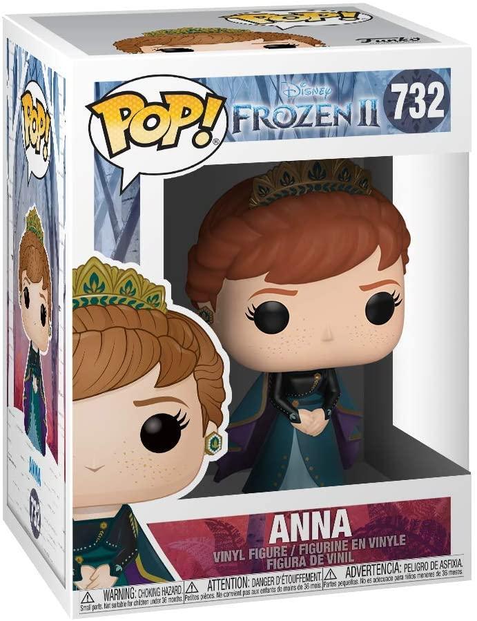Epilogue #732 Movies Vinyl Figure Disney Frozen 2 Funko POP Anna