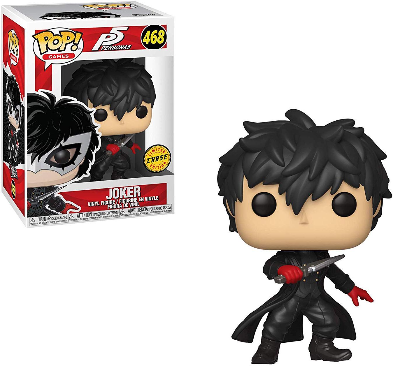 Pop Games 3.75 Inch Action Figure Persona 5 - Joker ...