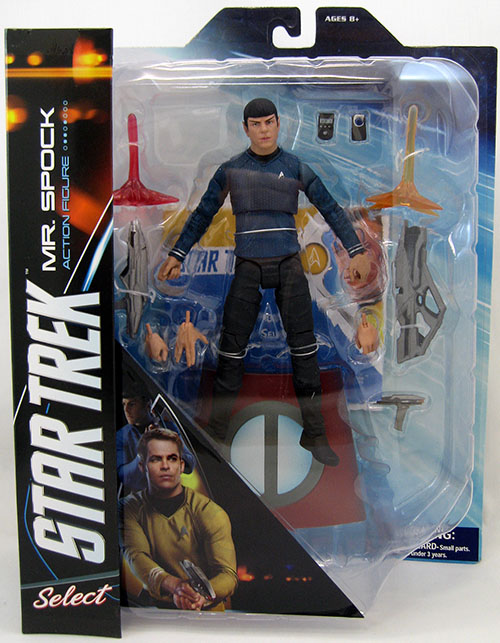 Star Trek Into Darkness Spock Action Figure New