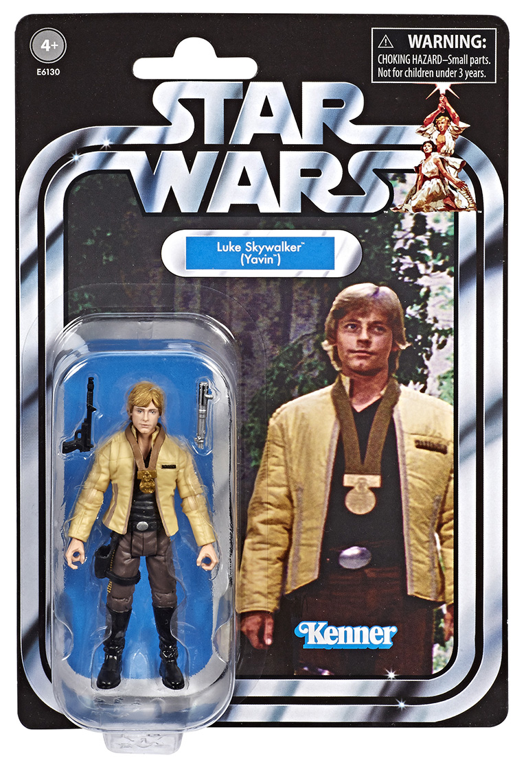"Star Wars 3.75/"" inch The Vintage Collection VC151 LUKE SKYWALKER Yavin ceremony"