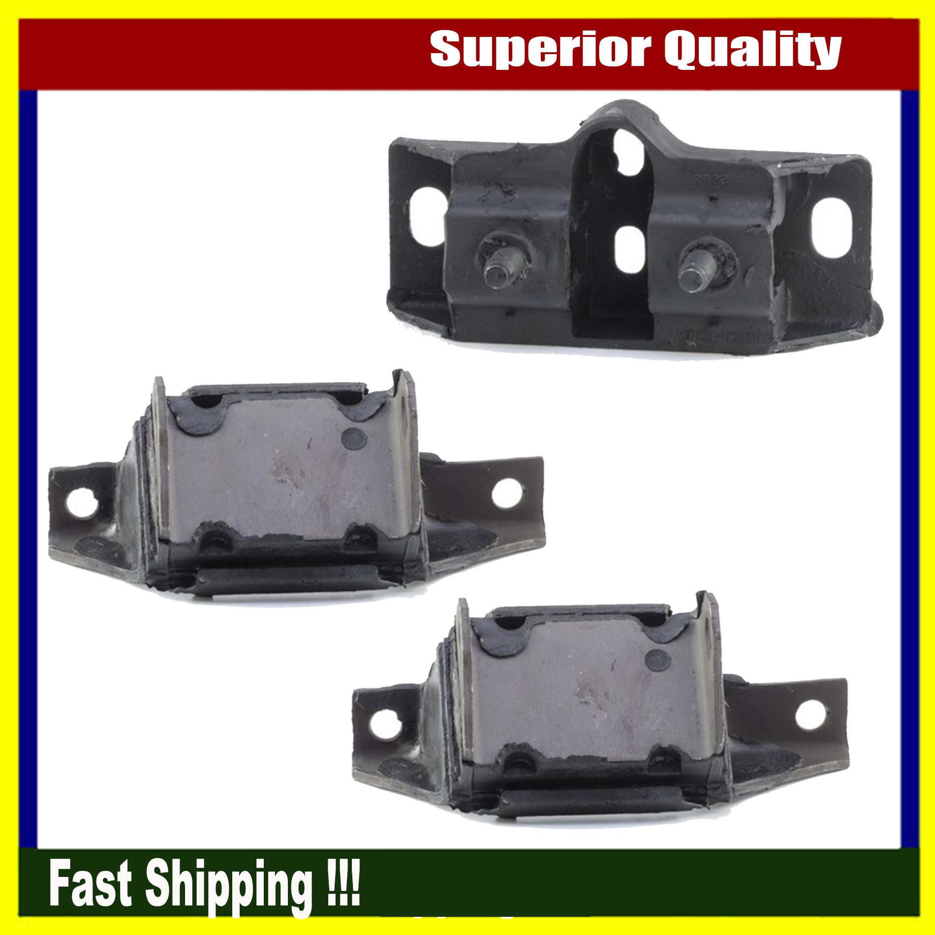 Anchor New Engine Motor Mount Set of 2PCs For Ford Mustang Ranchero