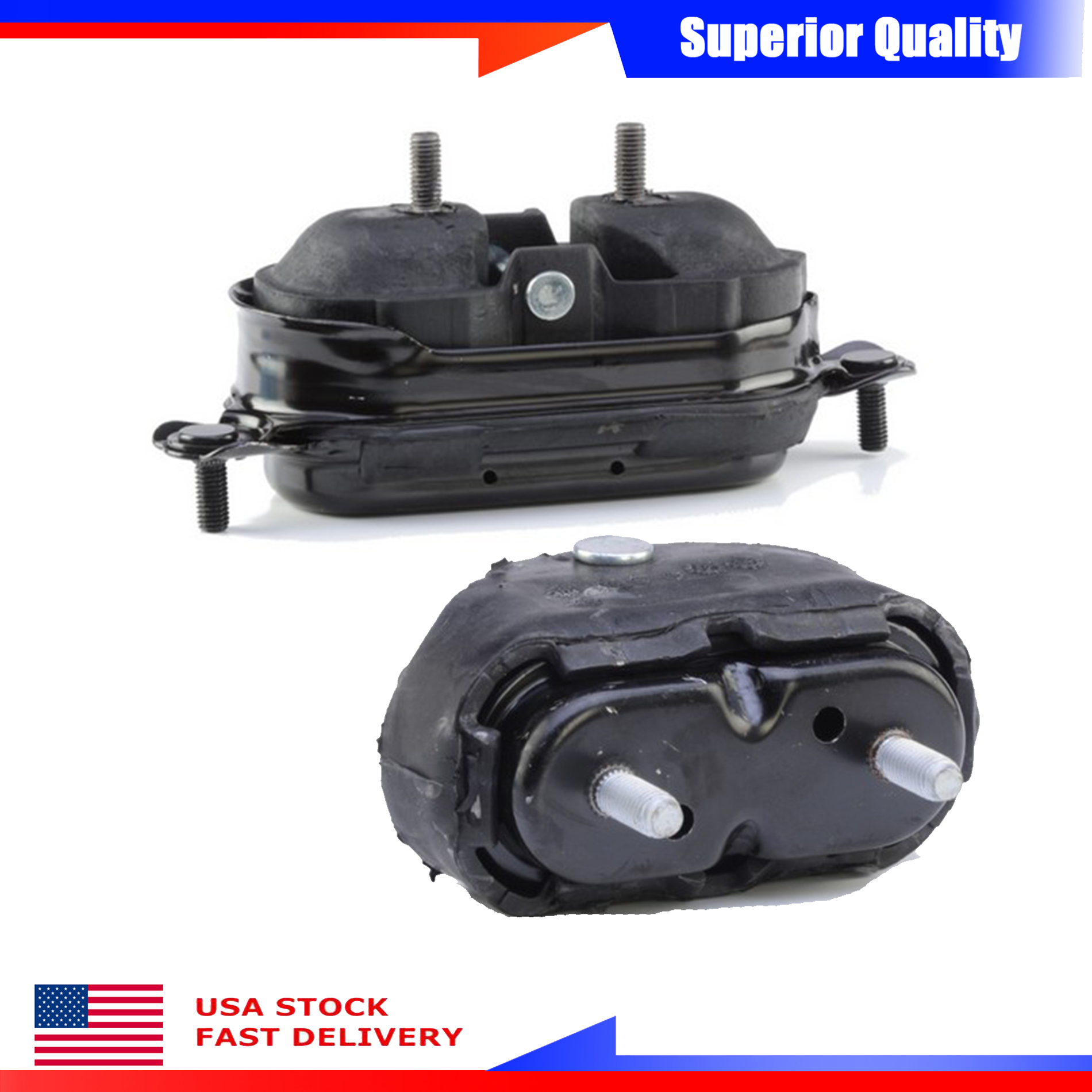 For Chevrolet Monte Carlo SS Coupe FWD Engine Motor /& Trans Mount Set 2PCs