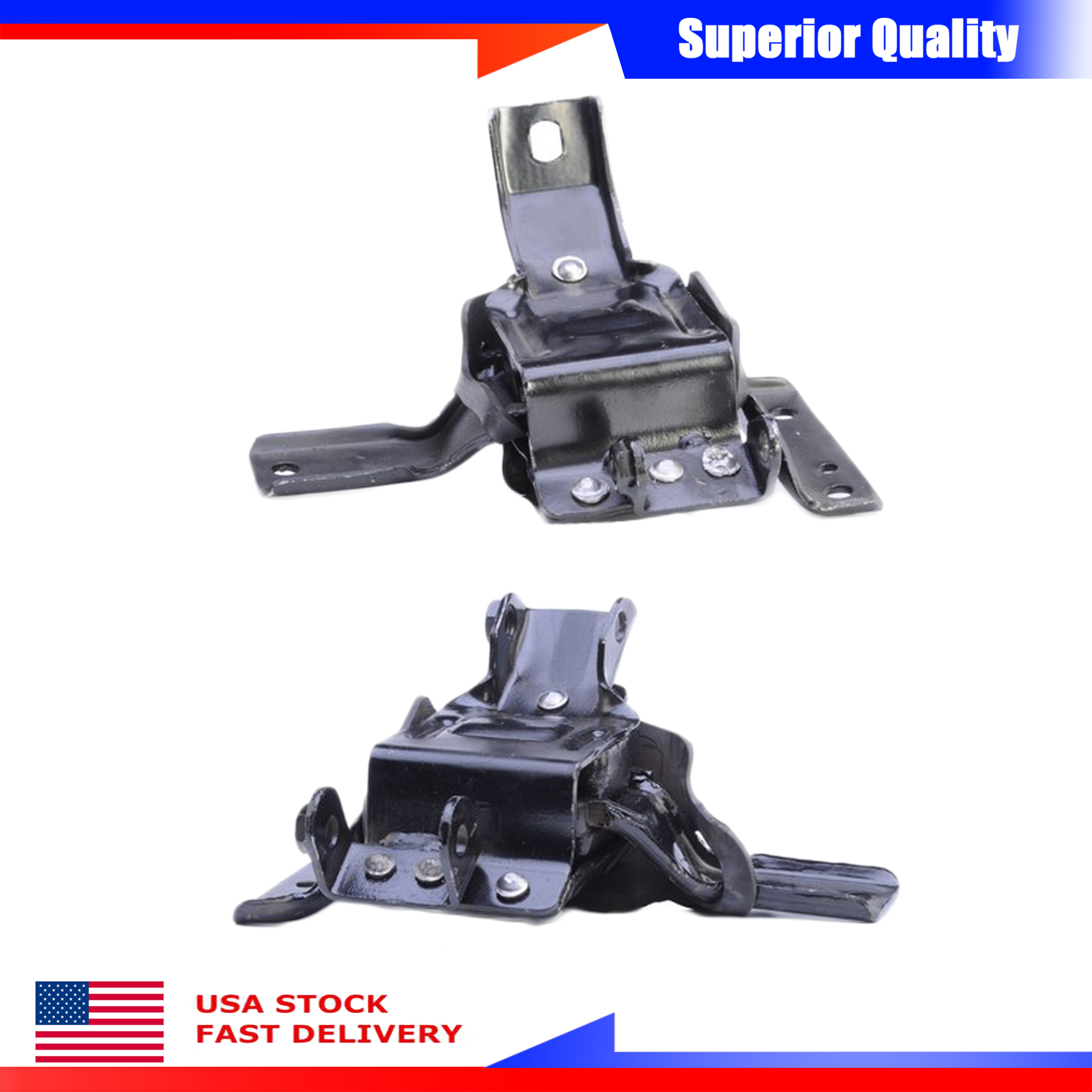 Engine Motor Mounts Front Right Left Set 4.6 L For Ford Crown Victoria Mercury