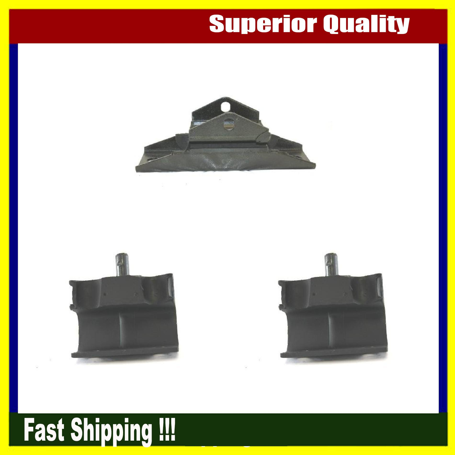 New DEA Engine Motor Mount Set Of 3 Fits 1963-1964 Ford Country Squire Base