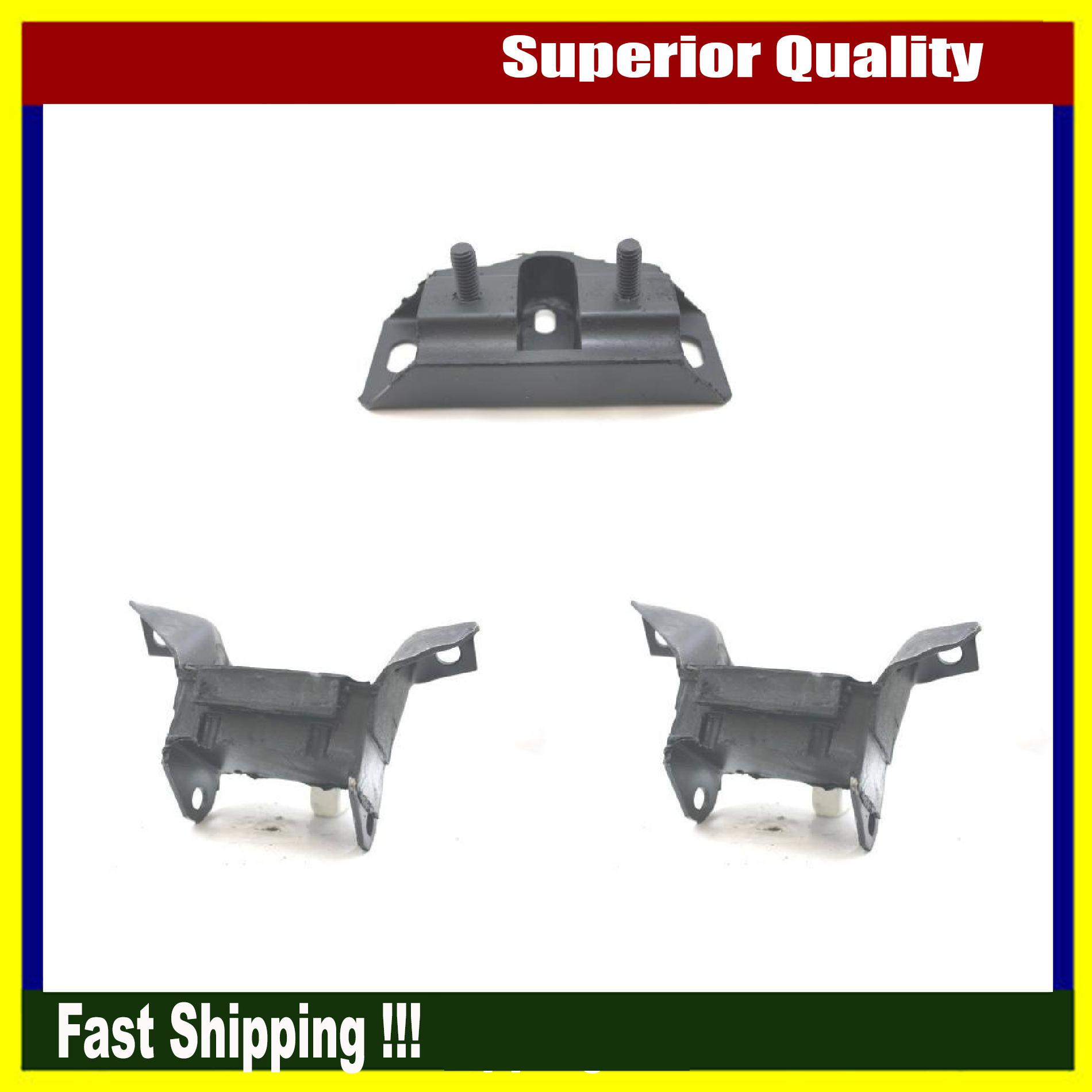 3Pcs Brand New Anchor Engine Mount Set For 1965 Ford Mustang Shelby GT-350