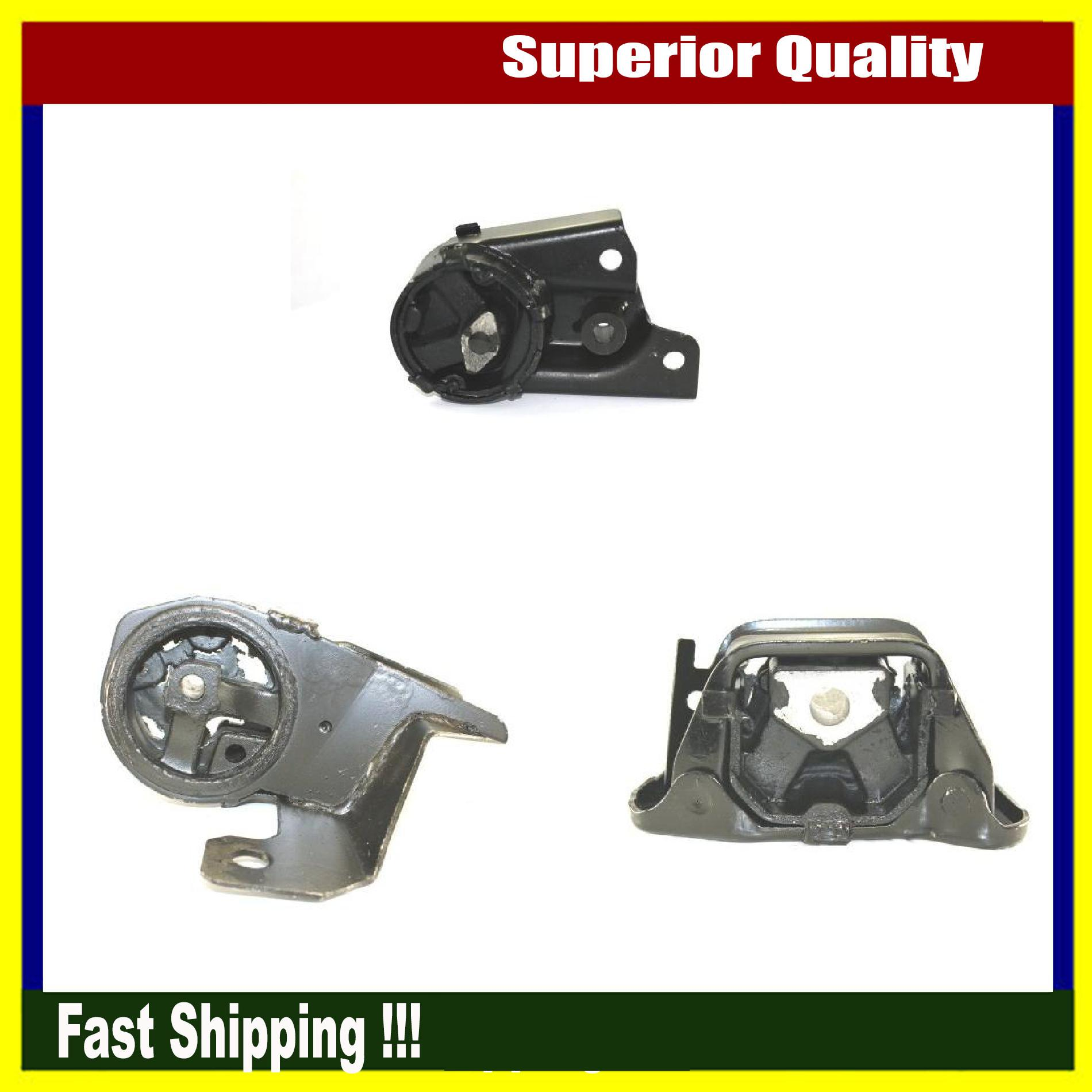 Brand New Dea Engine Mount Set 3pcs For 98