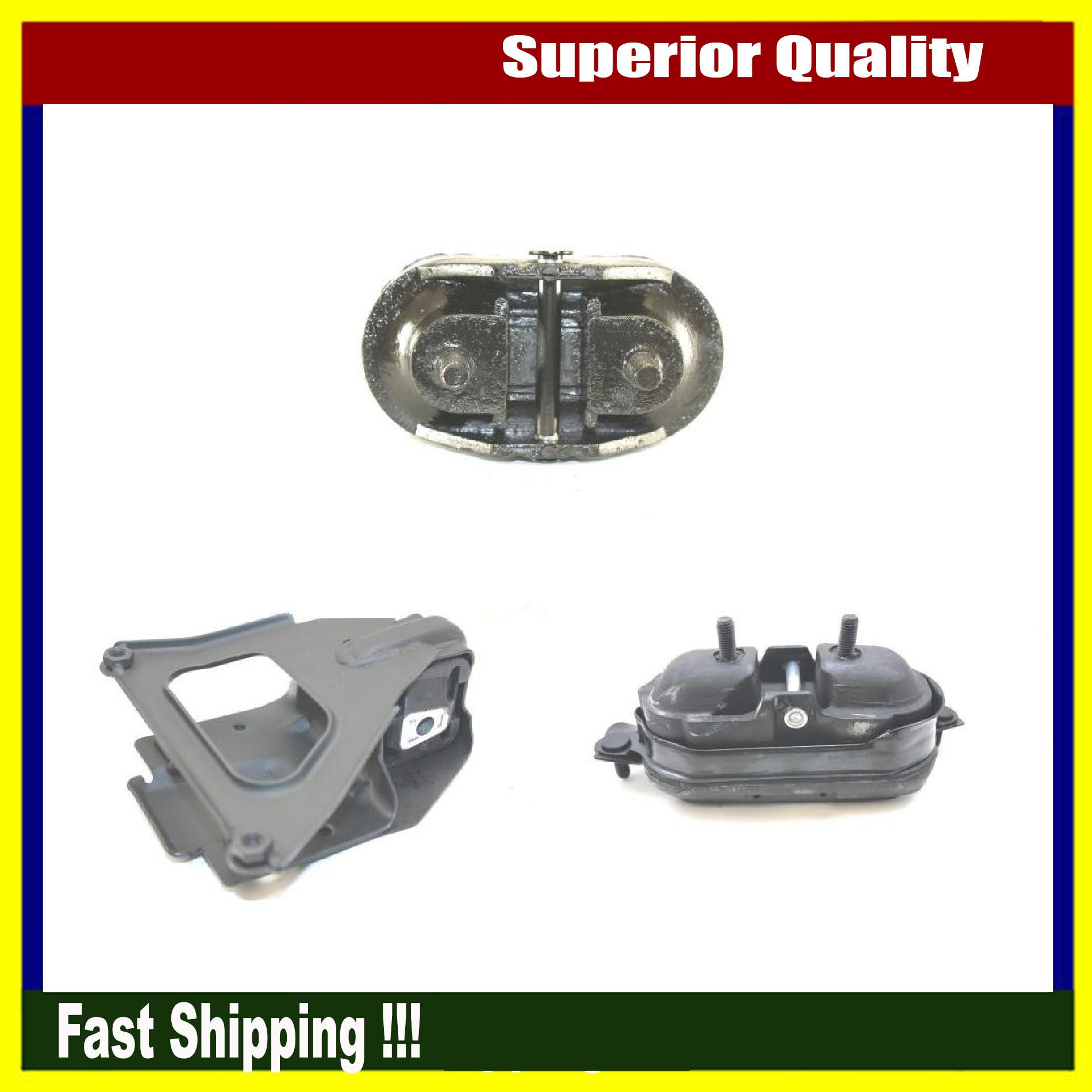 Set 3PCS For Chevrolet Monte Carlo LS 3.5L FWD Engine Motor /& Transmission Mount