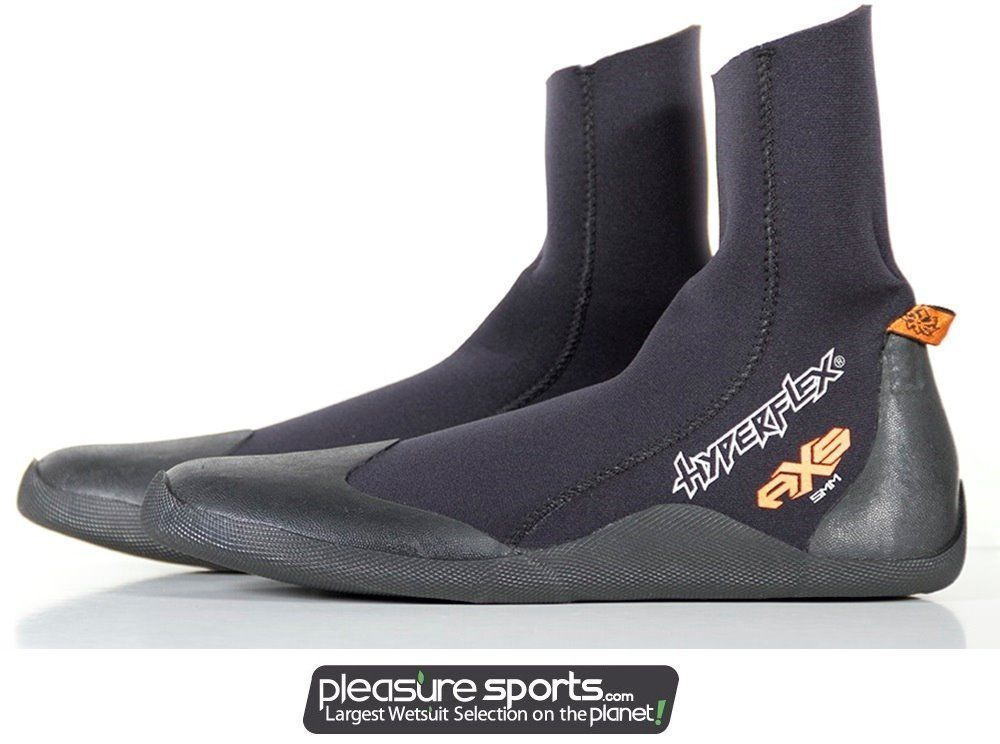 39f0bd905c11 Details about Hyperflex AXS Boot 5mm Cold Water Bootie Surfing Diving & More