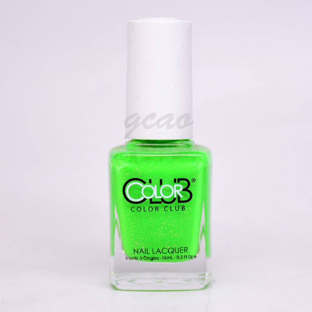 Color Club Nail Polish Lacquer Glitter Shades AGN05 Envy ...