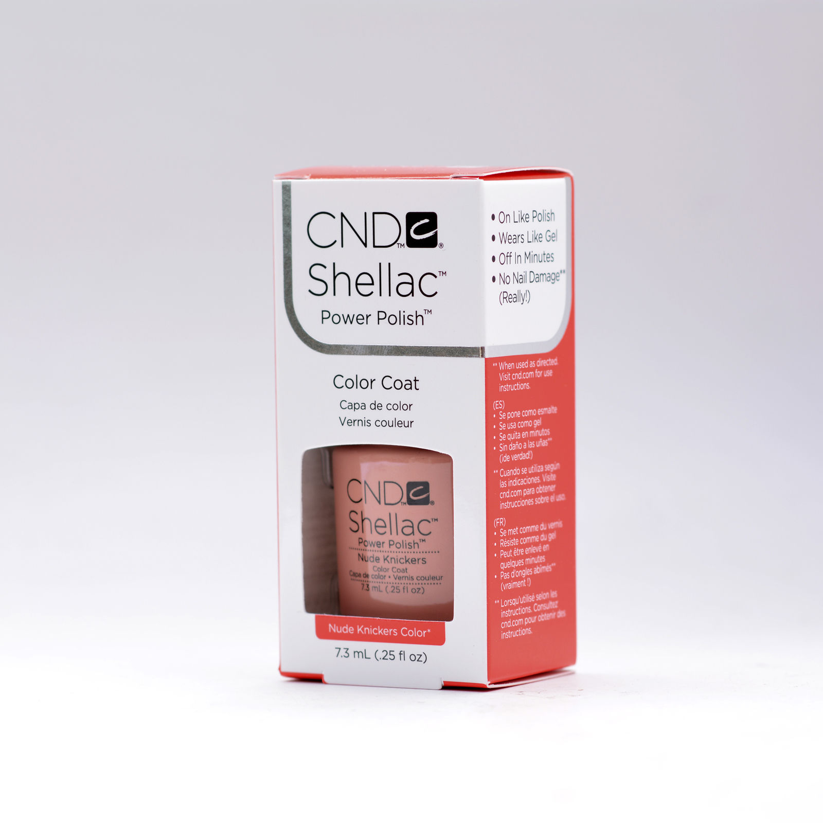 CND Shellac Nude Knickers- Esthers Nail Center