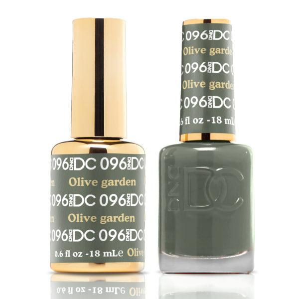 Details about DND DC Soak Off Gel Polish + Matching Nail Polish Duo 96  Olive Garden