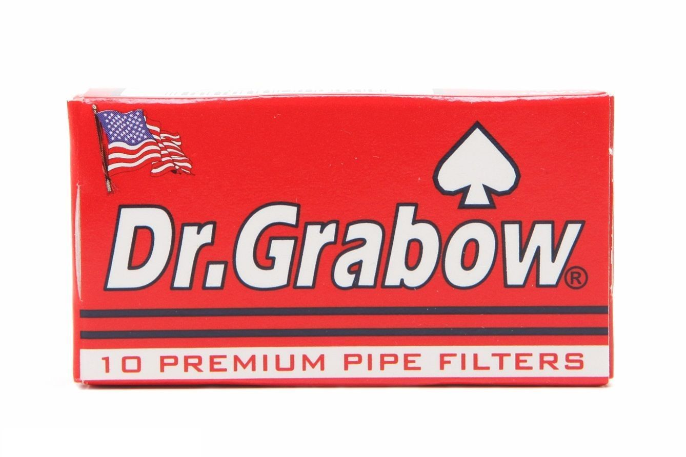 Dr. Grabow Premium Pipe Filter - 2 PACKS - Doctor 10 Filters Per Pack USA Made 3