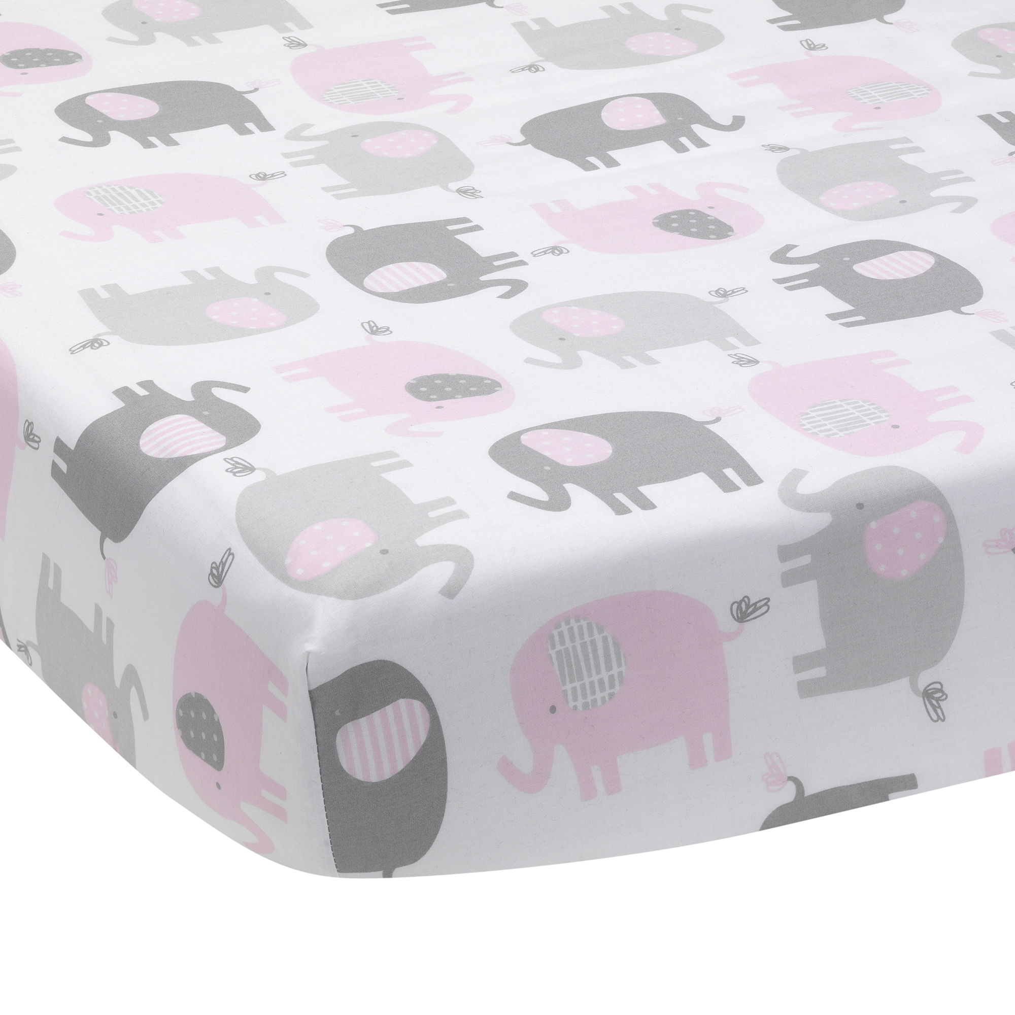 Awesome Details About Bedtime Originals Eloise Gray Pink White Elephant Baby Fitted Crib Sheet Ibusinesslaw Wood Chair Design Ideas Ibusinesslaworg