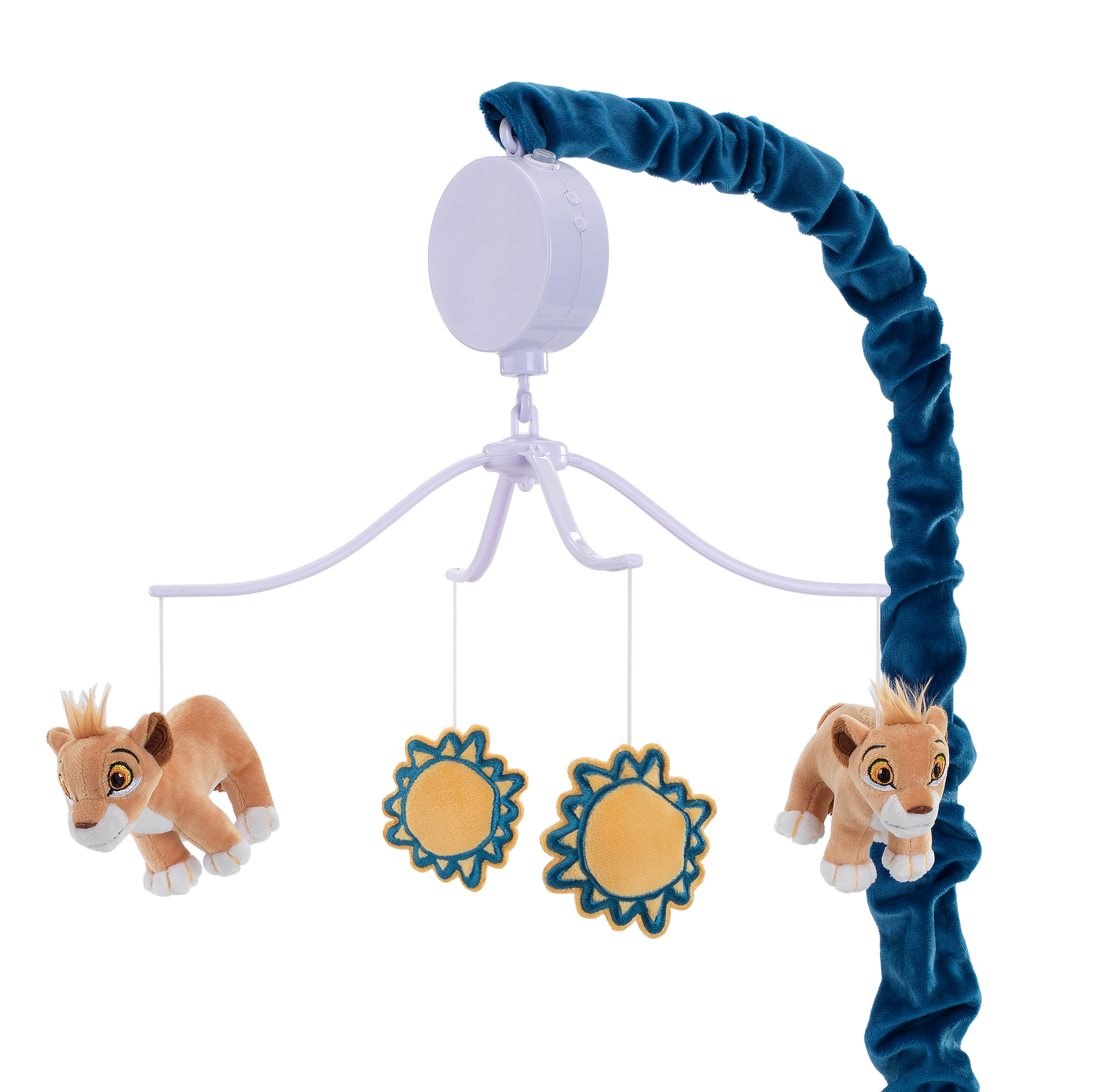 Lambs /& Ivy Animal Jungle Musical Baby Crib Mobile Soother Toy Multicolor