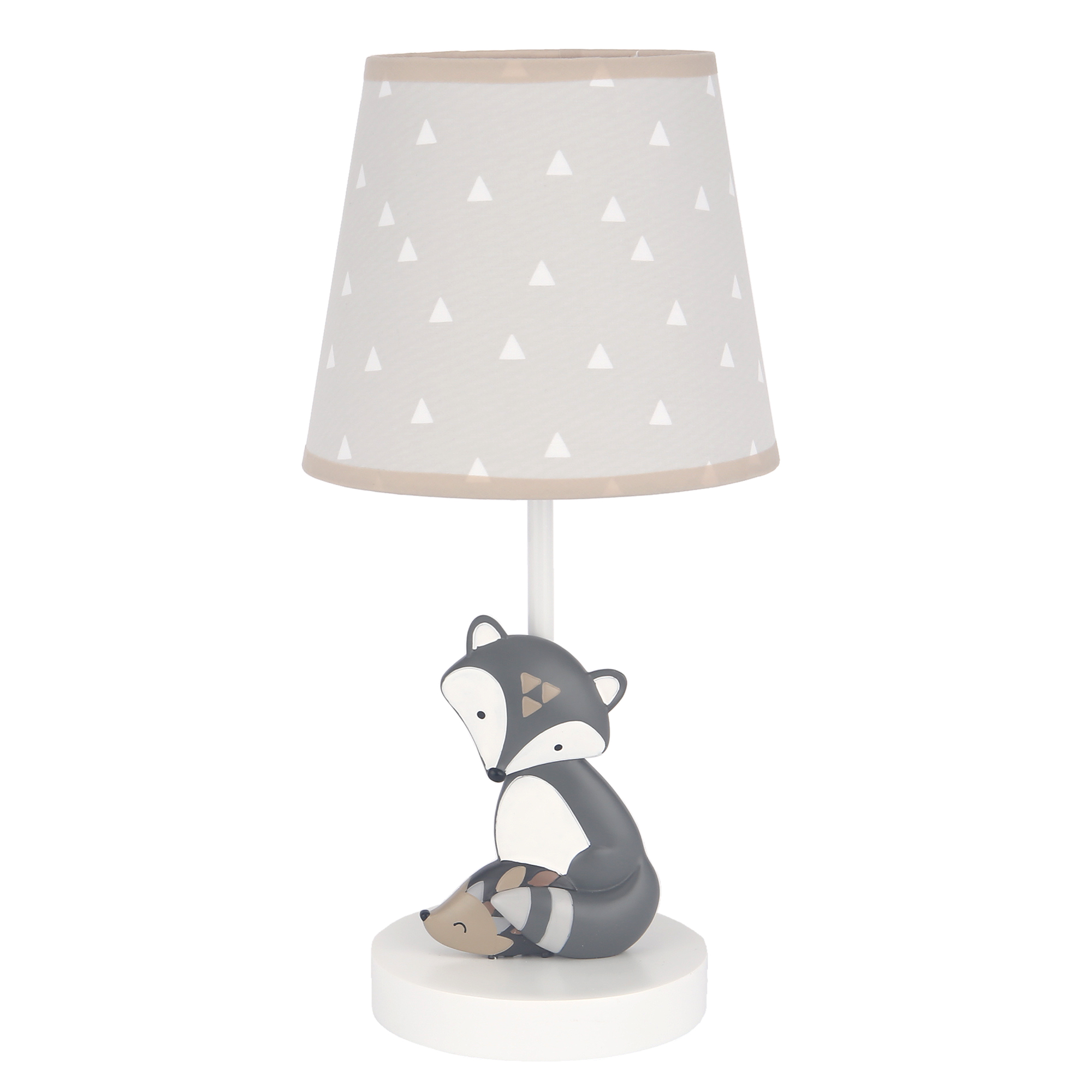 Bedtime Originals Roar Lamp with Shade /& Bulb Blue