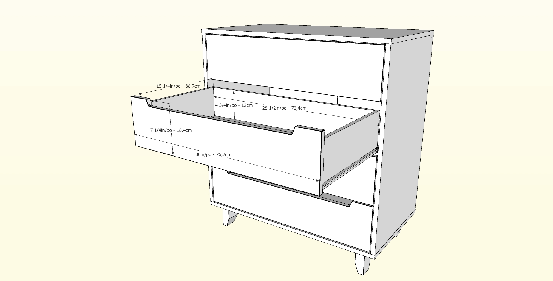 Nexera-4-Drawer-Chest miniature 6