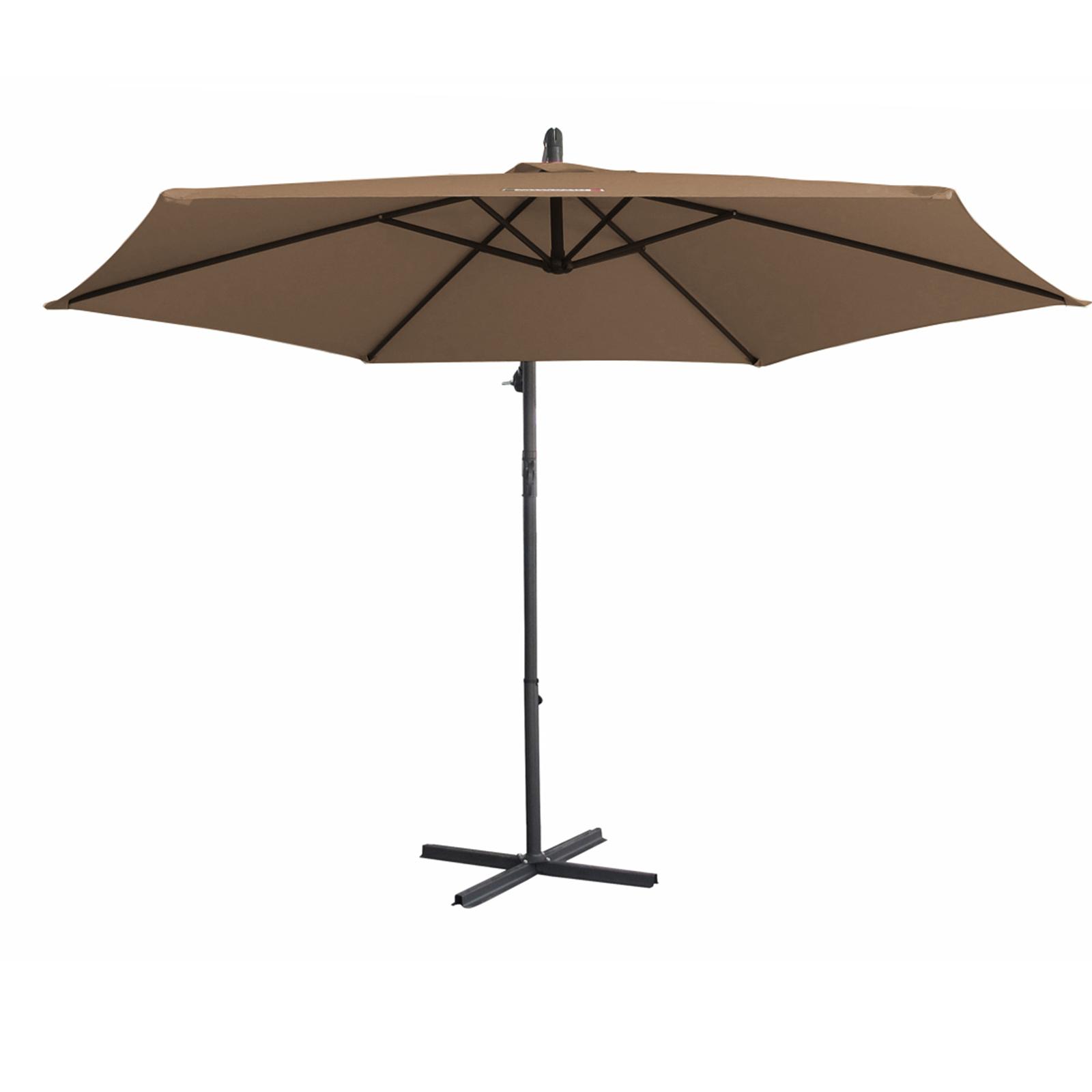 thumbnail 57 - Milano Outdoor 3 Metre Cantilever Umbrella UV Sunshade Garden Patio Deck