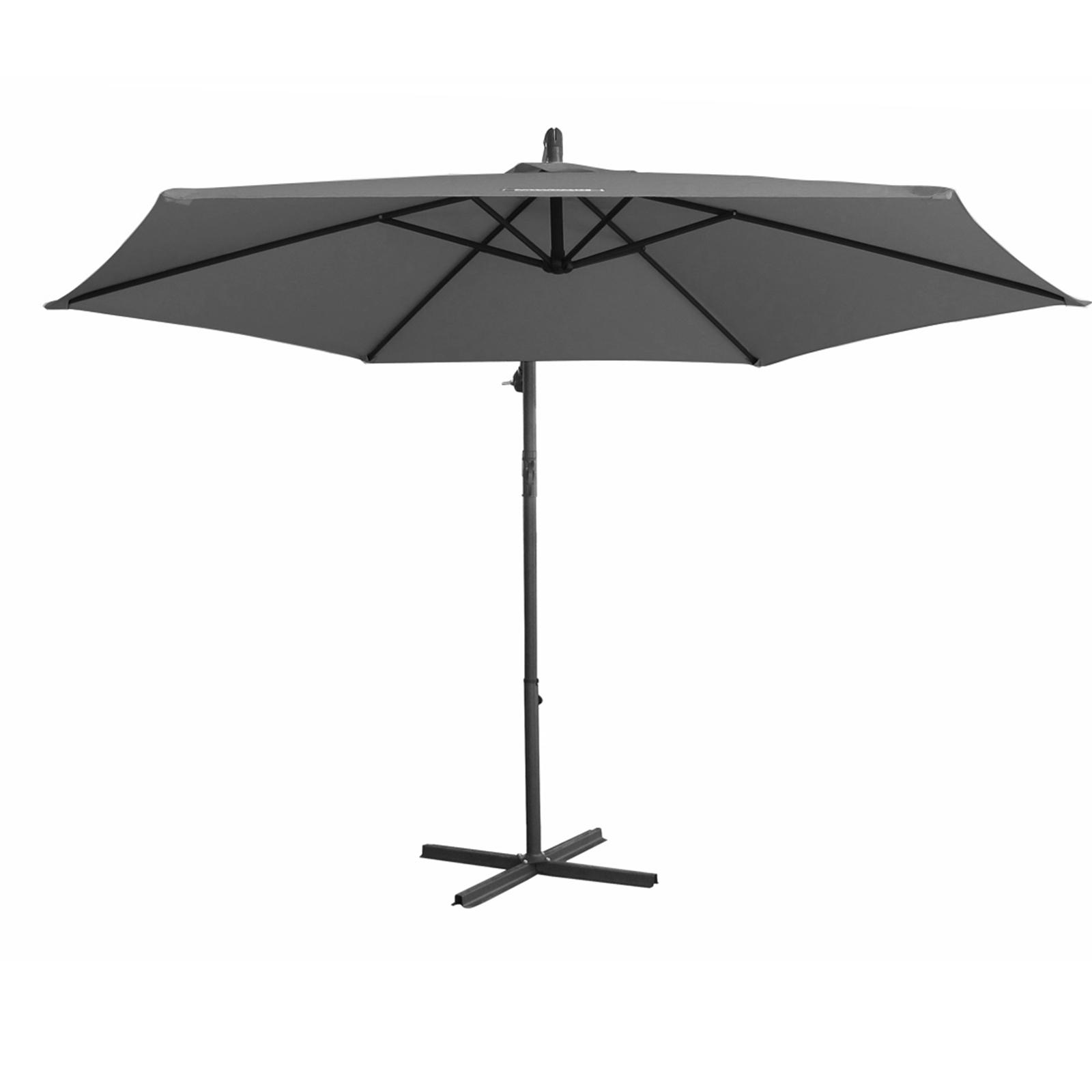 thumbnail 27 - Milano Outdoor 3 Metre Cantilever Umbrella UV Sunshade Garden Patio Deck