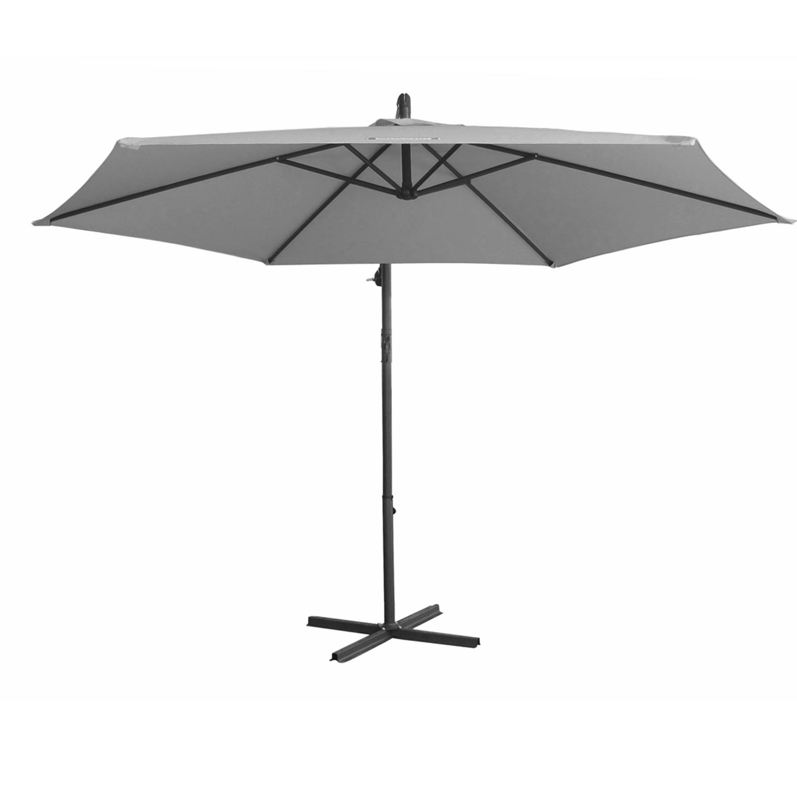 thumbnail 47 - Milano Outdoor 3 Metre Cantilever Umbrella UV Sunshade Garden Patio Deck
