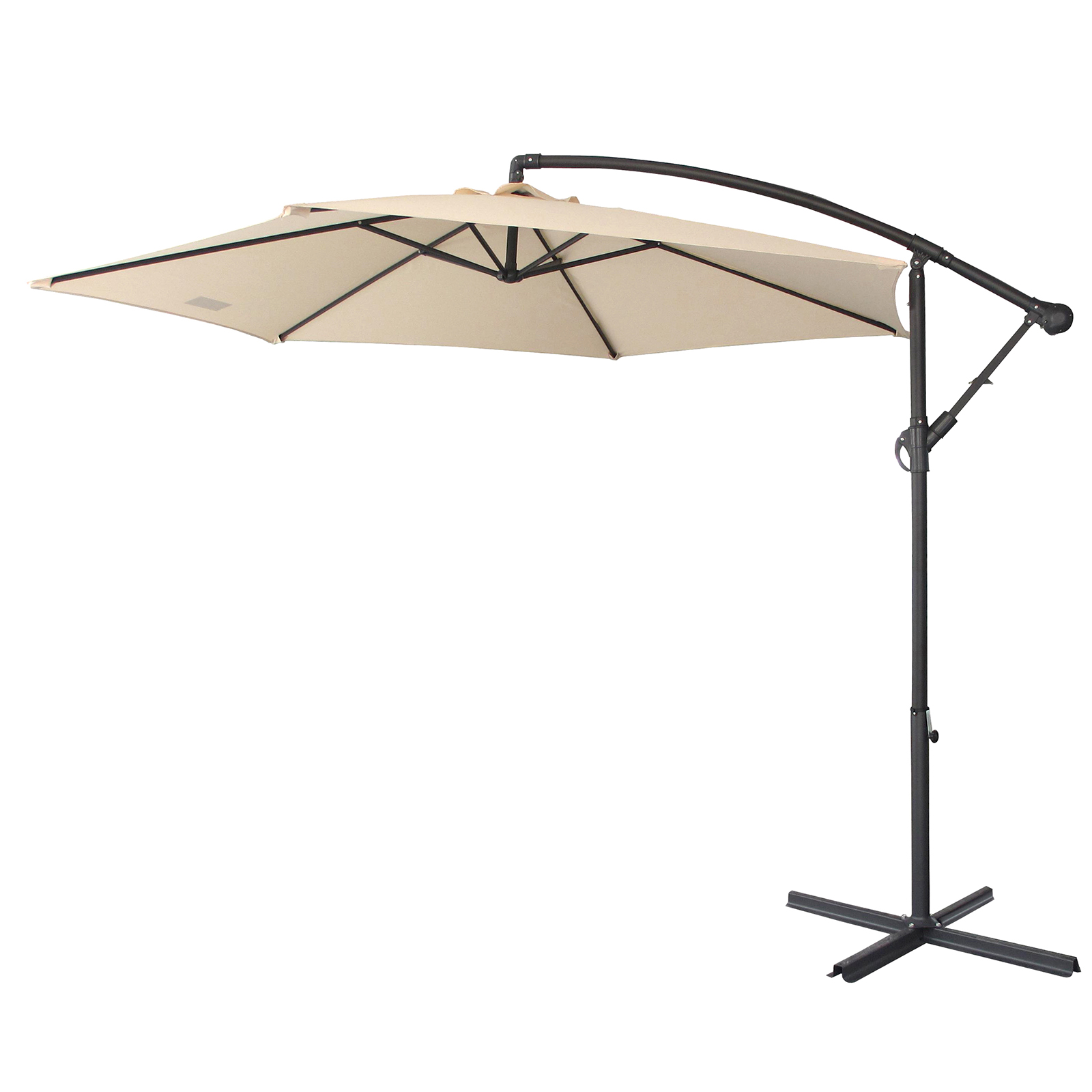 thumbnail 18 - Milano Outdoor 3 Metre Cantilever Umbrella UV Sunshade Garden Patio Deck