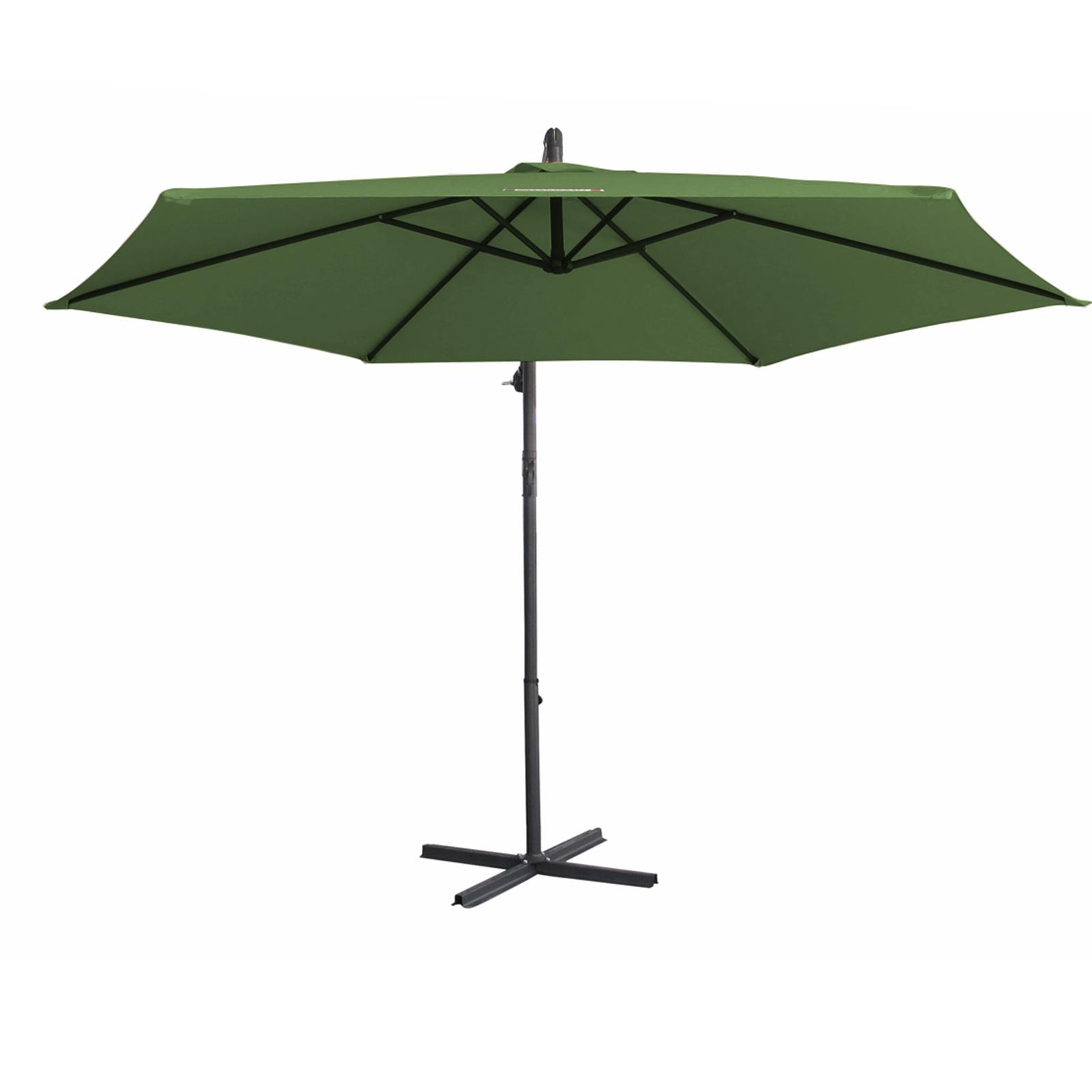thumbnail 36 - Milano Outdoor 3 Metre Cantilever Umbrella UV Sunshade Garden Patio Deck