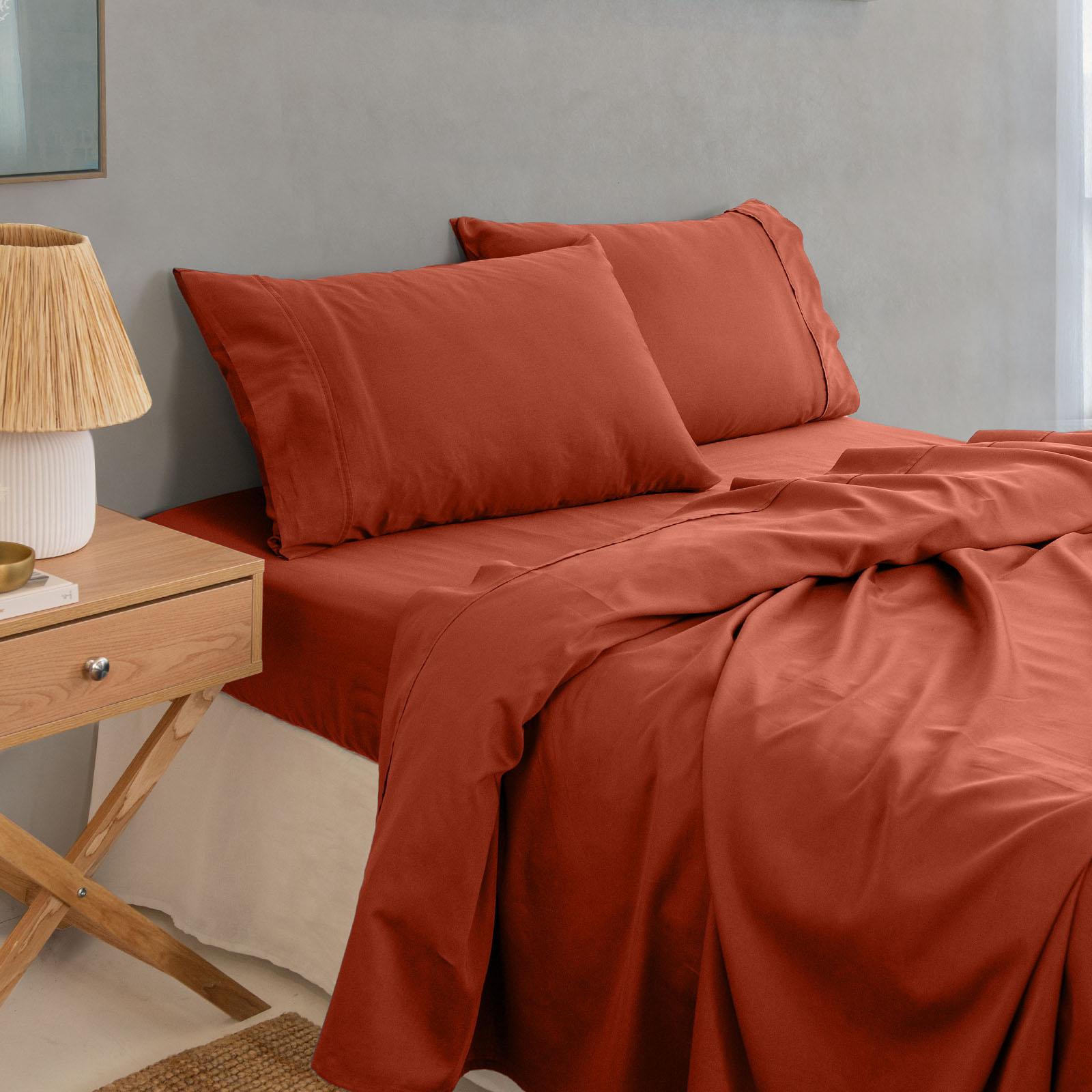 thumbnail 33 - Royal Comfort 1000TC Hotel Grade Bamboo Cotton Sheets Pillowcases Set Ultrasoft