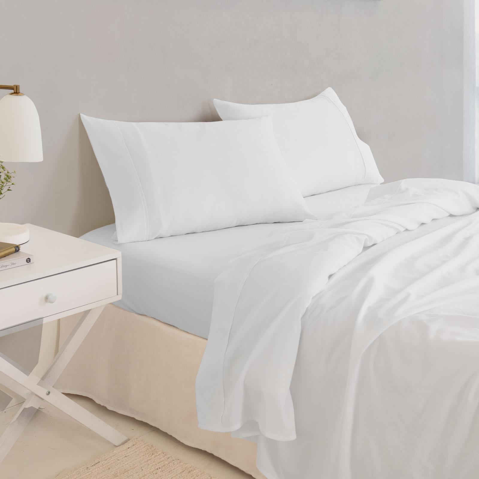 thumbnail 40 - Royal Comfort 1000TC Hotel Grade Bamboo Cotton Sheets Pillowcases Set Ultrasoft