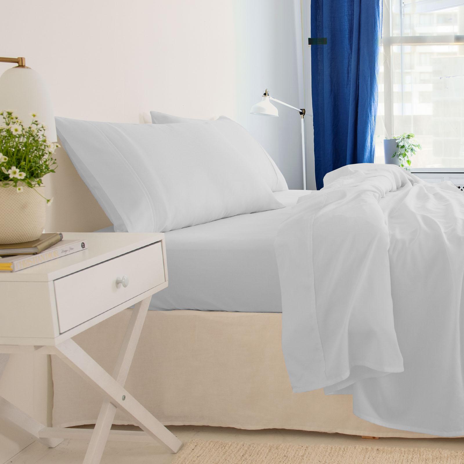thumbnail 41 - Royal Comfort 1000TC Hotel Grade Bamboo Cotton Sheets Pillowcases Set Ultrasoft