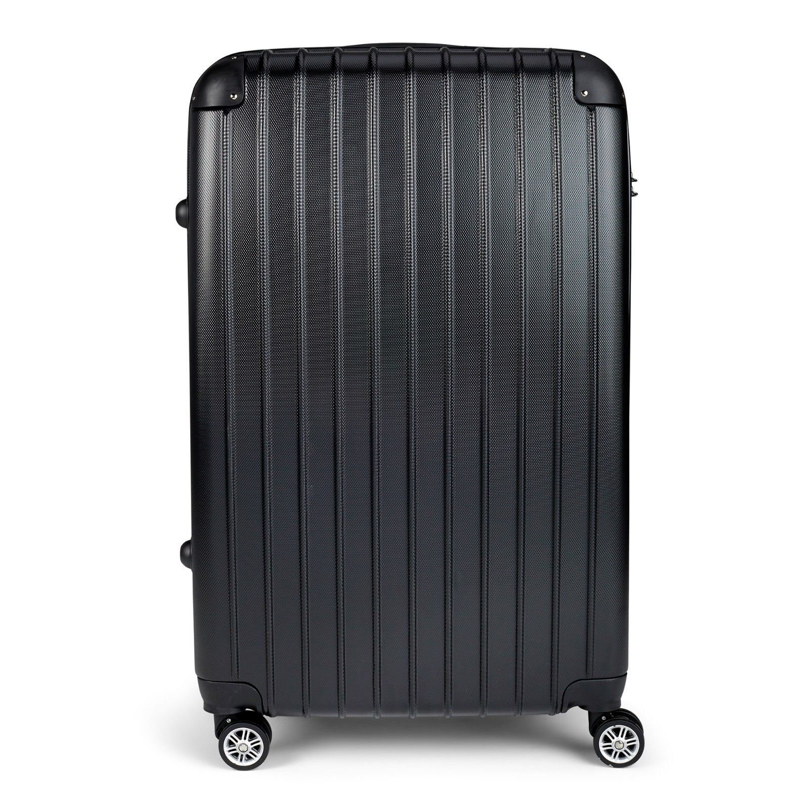 Milano-Premium-3pc-ABS-Luggage-Suitcase-Luxury-Hard-Case-Shockproof-Travel-Set thumbnail 6