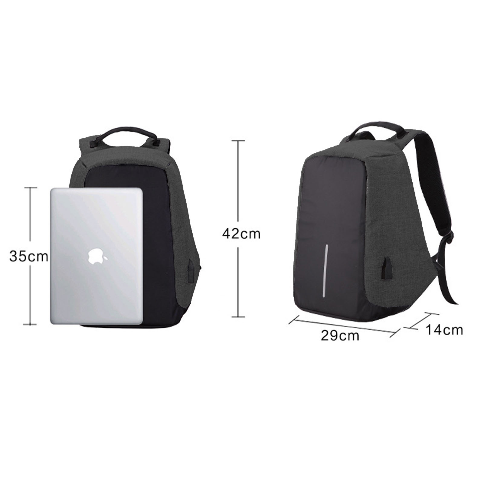 NEW-Anti-Theft-Backpack-Waterproof-bag-School-Travel-Laptop-Bags-USB-Charging