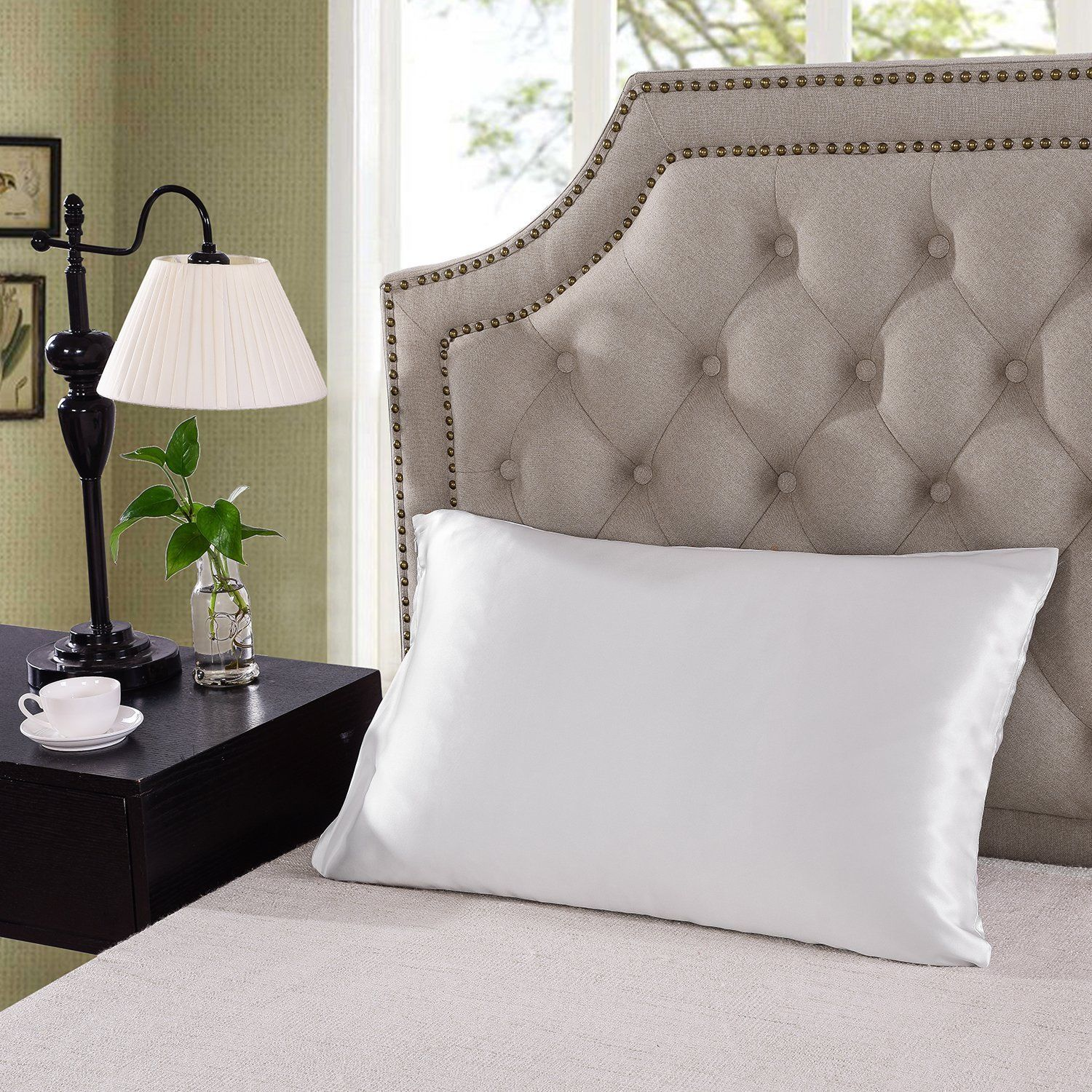 Royal-Comfort-Mulberry-Soft-Silk-Hypoallergenic-Pillowcase-Twin-Pack-51-x-76cm thumbnail 41