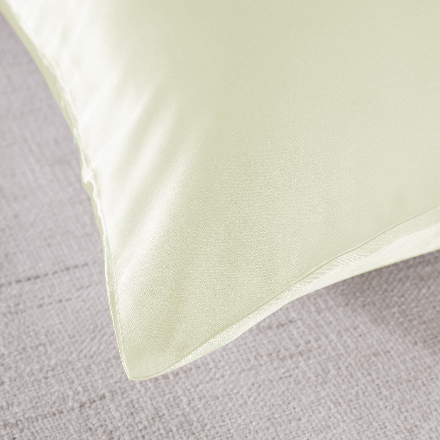 Royal-Comfort-Mulberry-Soft-Silk-Hypoallergenic-Pillowcase-Twin-Pack-51-x-76cm thumbnail 25