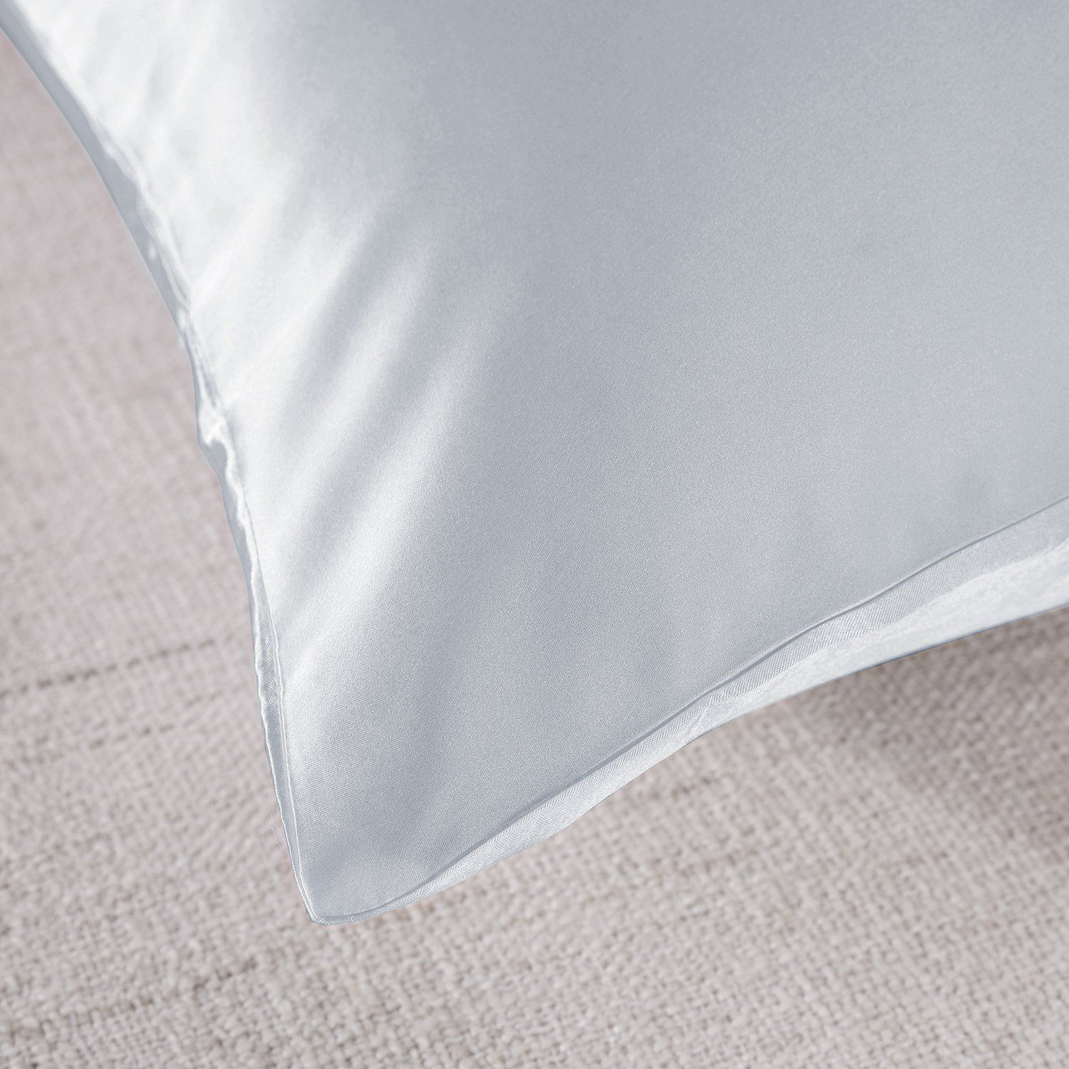 Royal-Comfort-Mulberry-Soft-Silk-Hypoallergenic-Pillowcase-Twin-Pack-51-x-76cm thumbnail 38