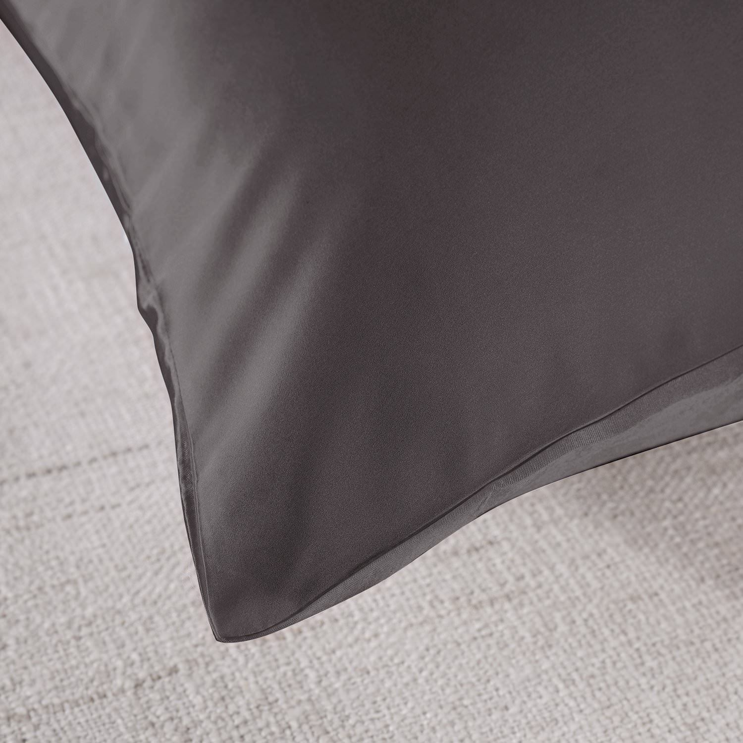 Royal-Comfort-Mulberry-Soft-Silk-Hypoallergenic-Pillowcase-Twin-Pack-51-x-76cm thumbnail 20
