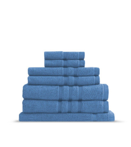 Renee-Taylor-Aria-600GSM-Zero-Twist-Egyptian-Cotton-7Pc-Towel-Pack-Bath-Hand