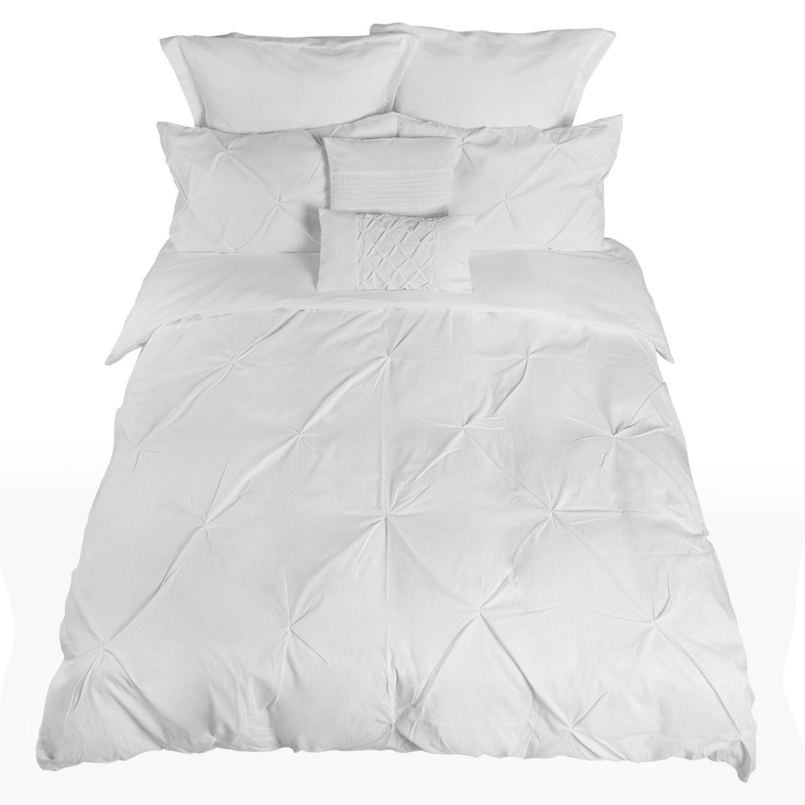 Royal-Comfort-7-Pc-Soft-Microfiber-Fitted-Pleat-Comforter-Case-Blanket-Bed-Set