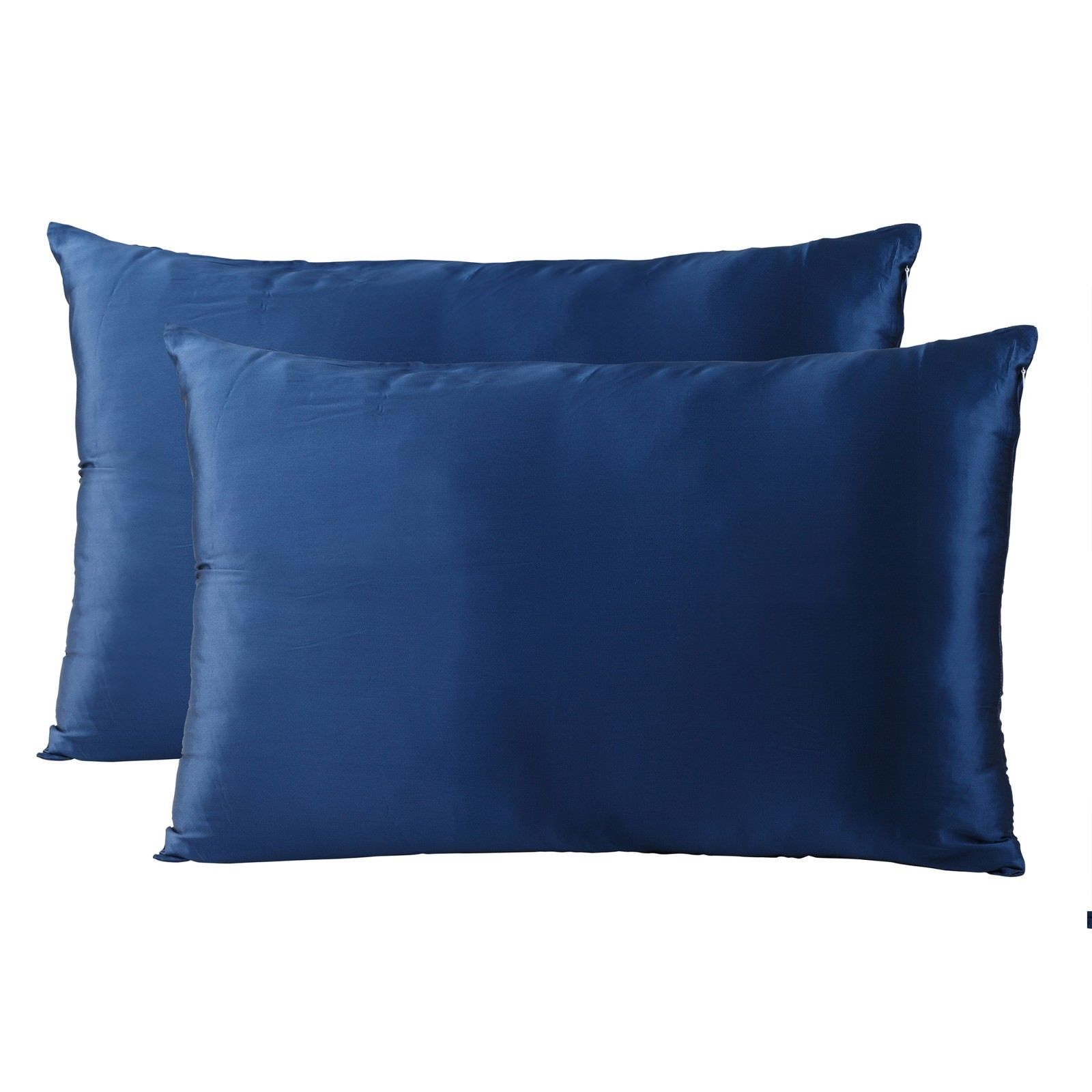 Royal-Comfort-Mulberry-Soft-Silk-Hypoallergenic-Pillowcase-Twin-Pack-51-x-76cm thumbnail 32