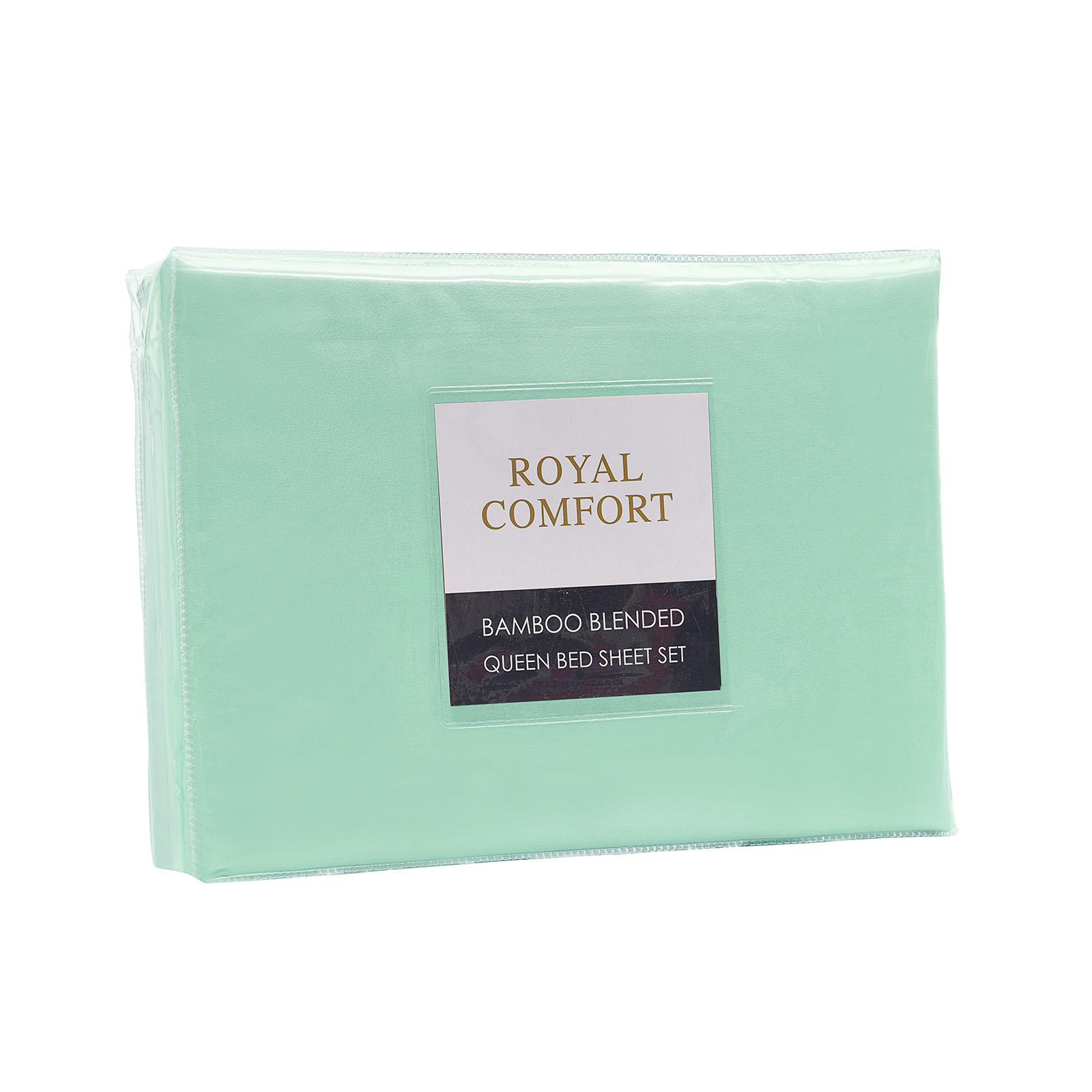 Royal-Comfort-Bamboo-Blended-Sheet-amp-Pillowcases-Set-1000TC-Ultra-Soft-Bedding thumbnail 16