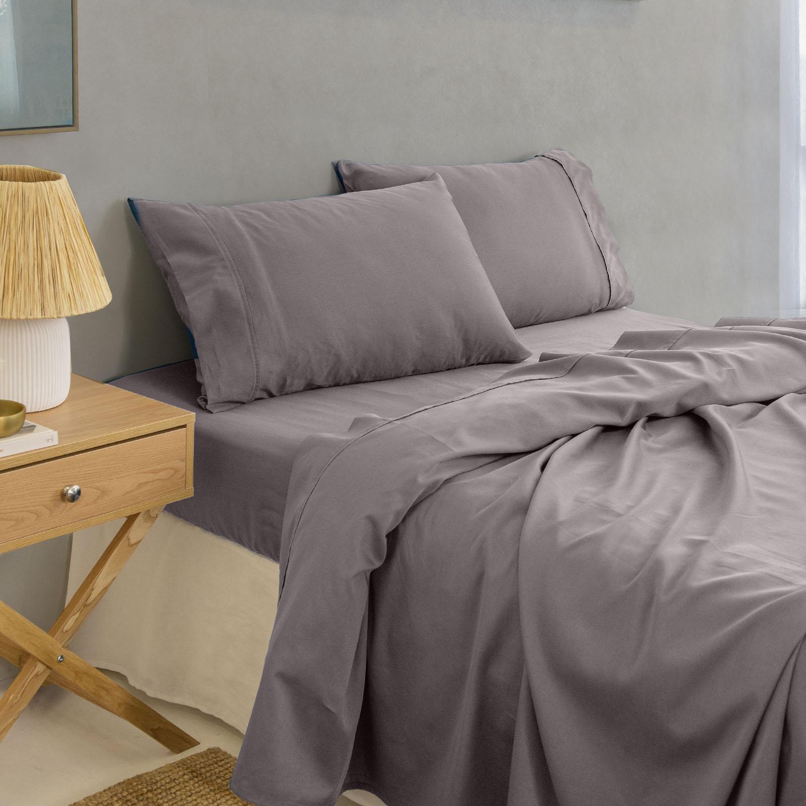 thumbnail 47 - Royal Comfort 1000TC Hotel Grade Bamboo Cotton Sheets Pillowcases Set Ultrasoft