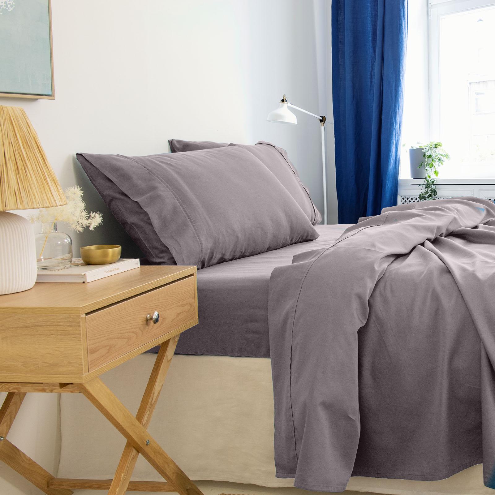 thumbnail 48 - Royal Comfort 1000TC Hotel Grade Bamboo Cotton Sheets Pillowcases Set Ultrasoft